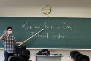 4・5年生、専攻科生の対面授業が開始されました