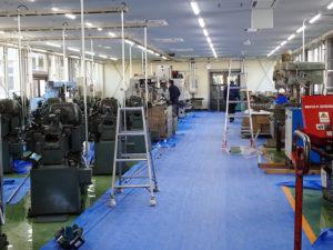 実習工場の様子