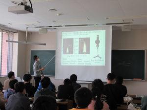 【機械工学科】卒研テーマ説明会・学科ガイダンス