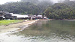高専の北にある田井漁港