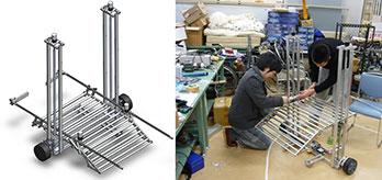 自動荷物運搬ロボットの開発