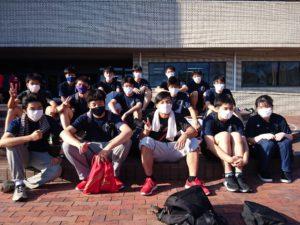 男子バレーボール部が大会に出場しました。8月11日(火)