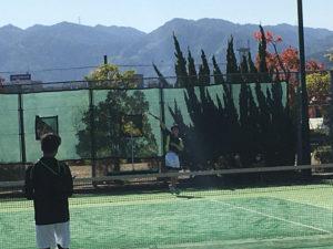 ソフトテニス部が「第65回 舞鶴選手権大会」に参加しました。[10月25日(日)]