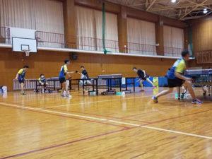 京都府公立高校卓球大会(団体の部)予選に出場しました。[11月7日(土)・14日(土)]