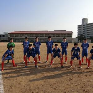 全国高専サッカー大会近畿地区予選に出場しました。[11月8日(日)]