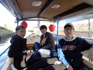 留学生が研修旅行に行きました。[10月31日(土)]