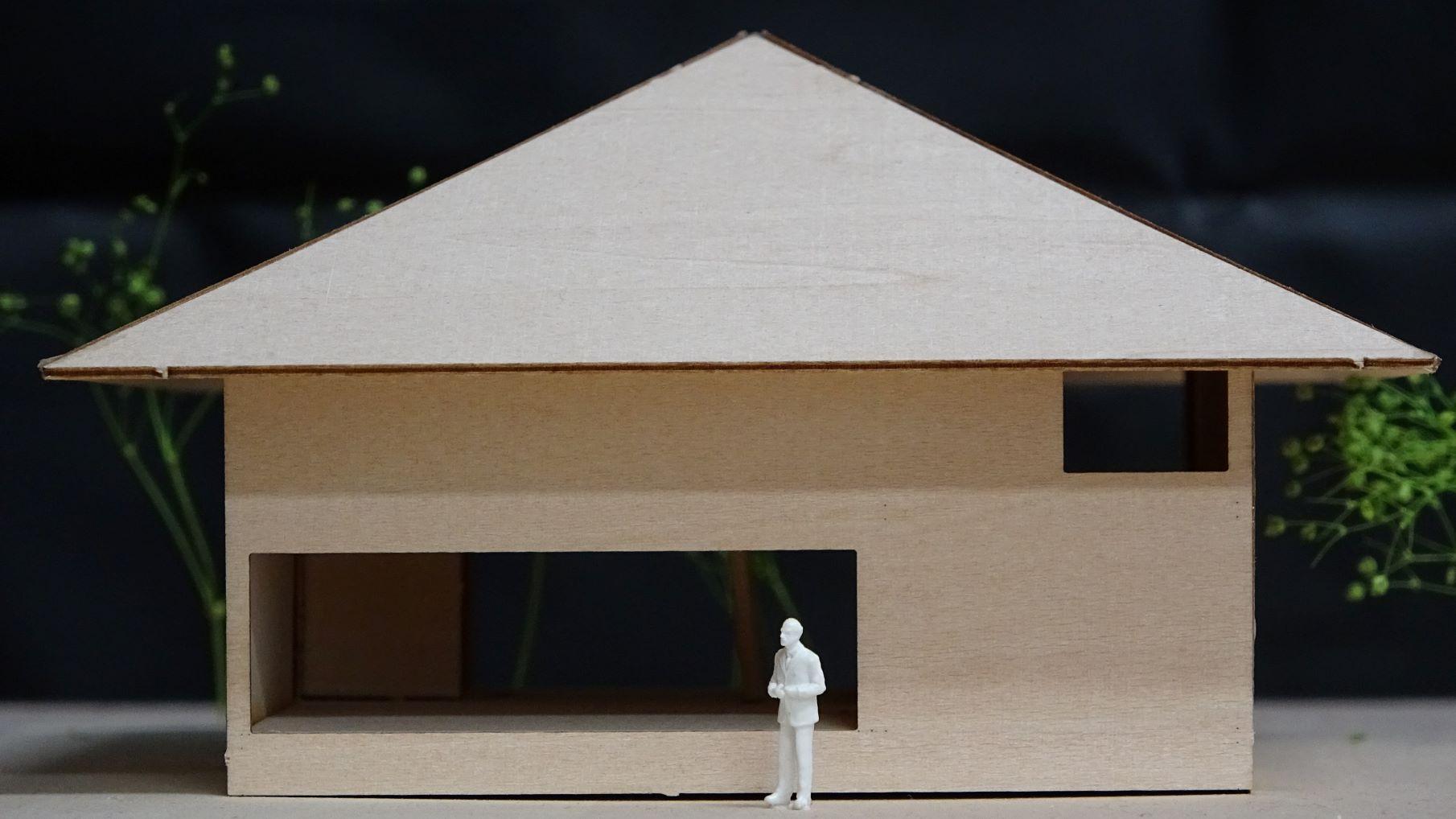 住宅建築模型制作 篠原一男 白の家