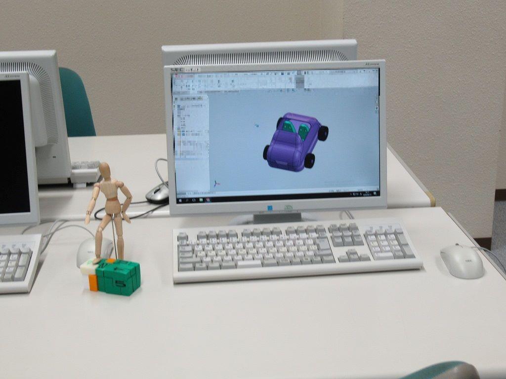 3D-CADを使ってみよう!パソコンで3Dモデル組立て