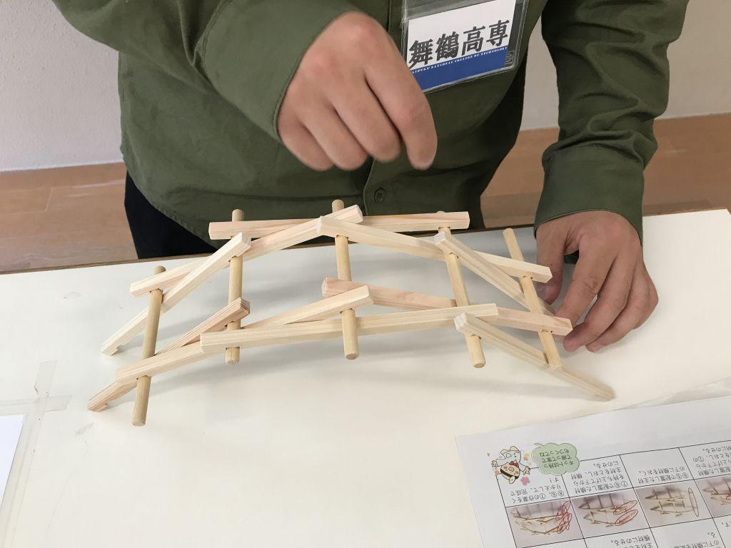 レオナルド・ダ・ヴィンチの橋をつくろう! ~模型で学ぶ橋の仕組みと形~