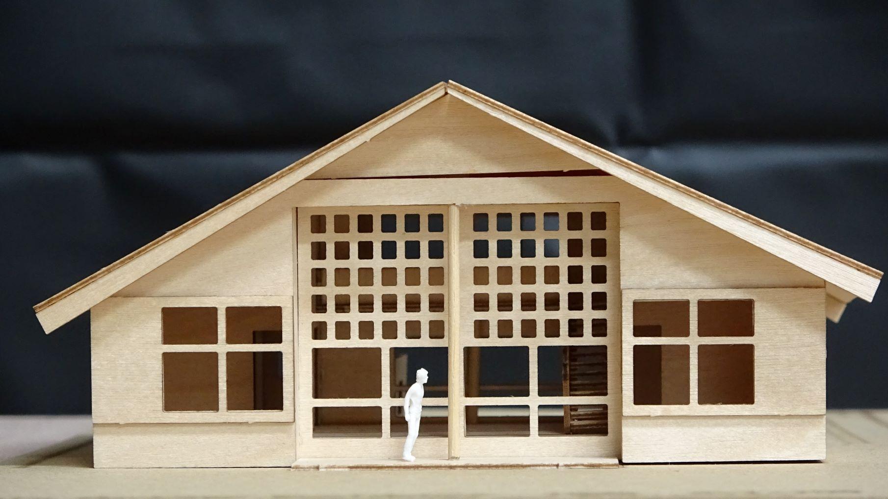 住宅建築模型制作 前川國男 自邸