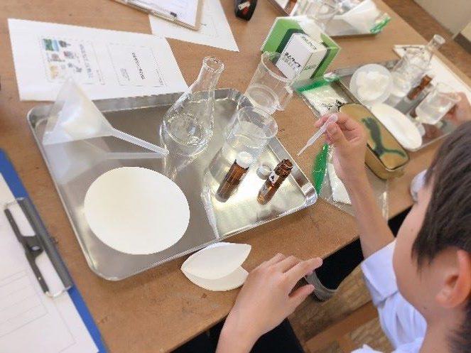 水をきれいにする試み -快適な環境の創造実験-